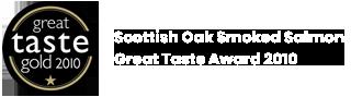 Scottish Oak Smoked Salmon Great Taste Award 2010